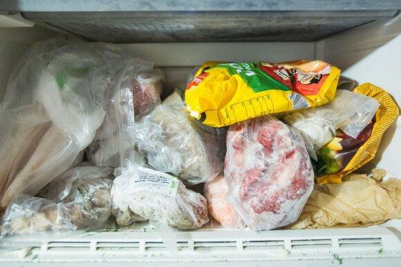 Sutvarkykite savo šaldiklį: kiek laiko galima laikyti įvairius užšaldytus produktus