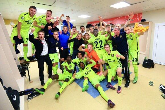 """""""Trakų"""" futbolininkai kol kas gausiausiai papildė Lietuvos kraitį UEFA reitinge"""