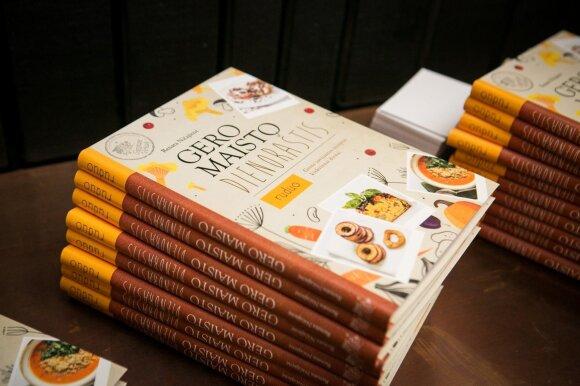 """Pristatyta naujausia ir paskutinė kulinarinių knygų serijos """"Gero maisto dienoraštis"""" dalis"""
