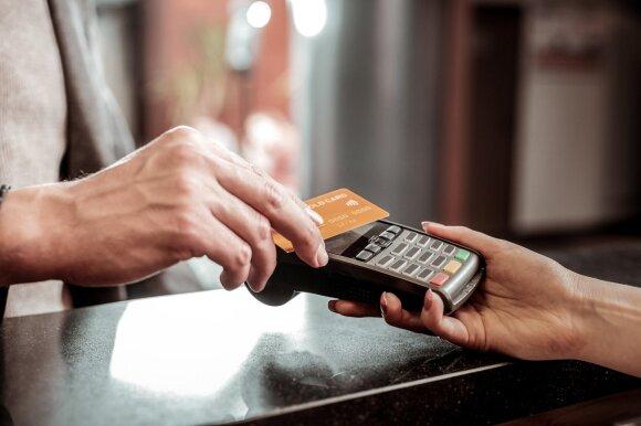 Mokėjimas bekontakte kortele