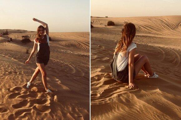 JAE dykumoje