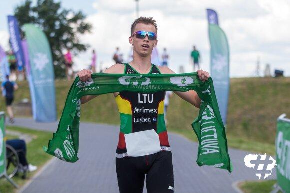 Lietuvos triatlono taurė 2020, Jonava, Lukas Prokopavičius
