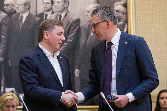 Ramūnas Karbauskis, Vytautas Bakas