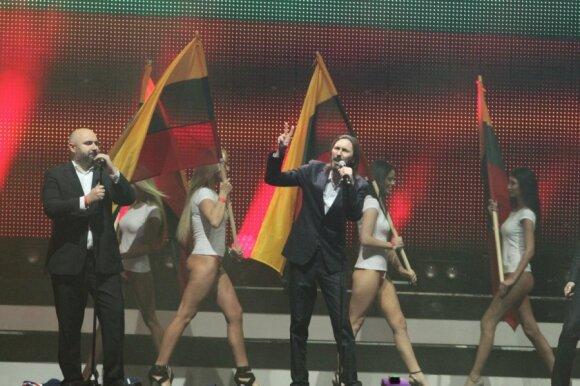 M.A.M.A apdovanojimų atgarsiai: tai buvo akivaizdus pasityčiojimas iš Lietuvos vėliavos