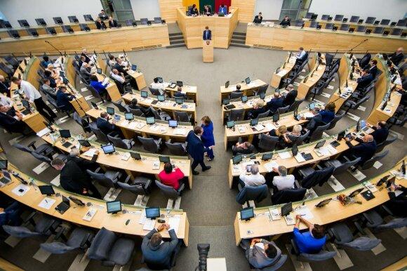 Slapta atgimsta mintis įteisinti Seimo narių rentas: pinigų kiekis priklausytų nuo kadencijų skaičiaus