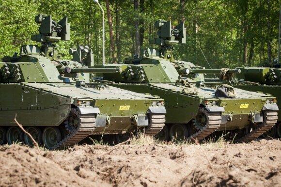 Pėstininkų kovos mašinos CV90