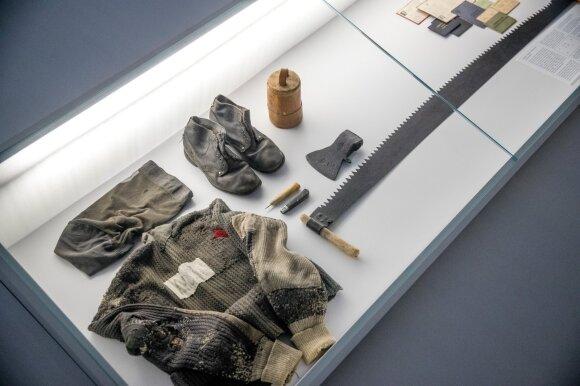 Lietuvos nacionalinio muziejaus parodoje – neeilinis eksponatas: keturiasdešimt metų pragulėjo užkastas po bijūno krūmu
