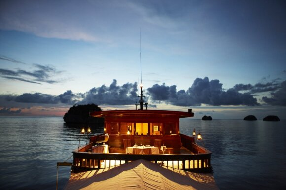 """Aman Voyages"" kruizai po Indonezijos salas"