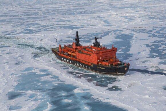 """""""Poseidon Expeditions"""" kruizas į Šiaurės ašigalį"""