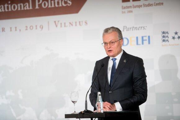 Nausėda: Rusija visomis išgalėmis siekia perrašyti istoriją
