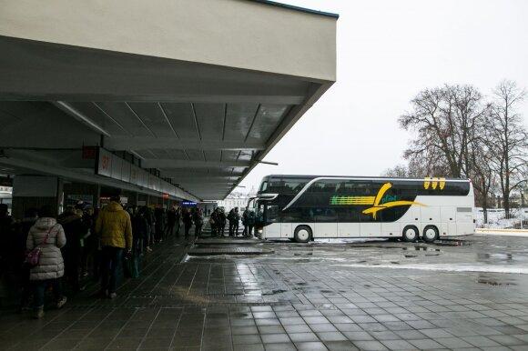 Autobusų stotis Pilaitėje: spūstys taptų dar didesnės