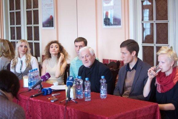 Пресс-конференция в Русском театре