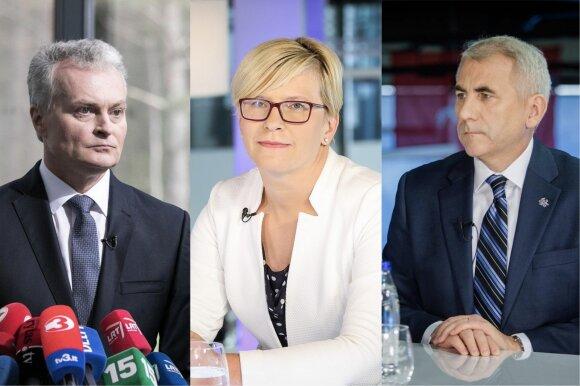 Kandidatų į prezidentus reitinguose – paskutinė didelė mįslė