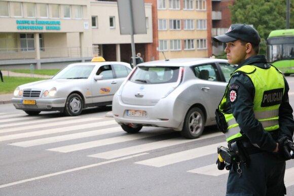Kaune policijos pareigūnai vykdė prevencines priemones
