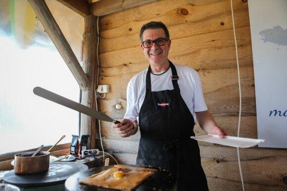 Olivier Criou gamina prancūziškus blynelius