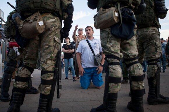 Po kruvinos savaitės Baltarusijoje mato tik vieną išeitį: jokių kalbų su Lukašenka nebus