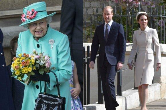 Elizabeth II, Williamas, Kate Middleton