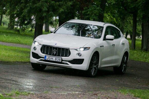"""""""Maserati Levante"""" – pirmasis italų kompanijos visureigis"""