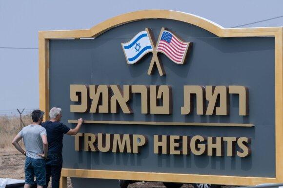 """""""Trumpo aukštumos"""" Golane"""
