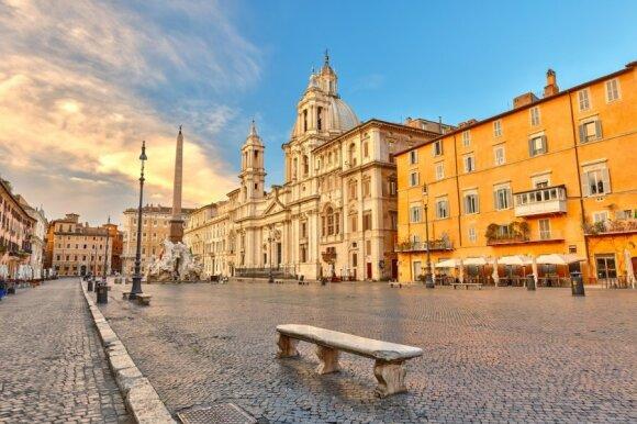 Piazza Navona Romoje (Italija)