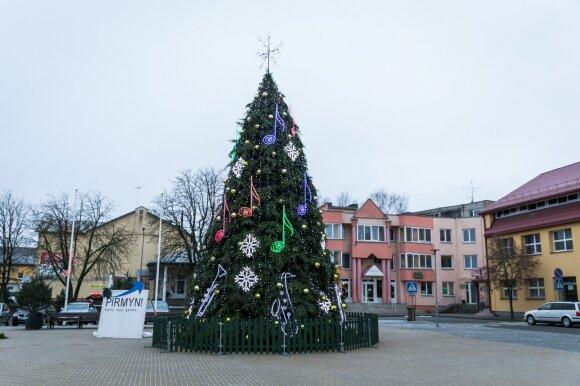 Nepraleiskite: kada jūsų mieste įžiebs Kalėdų eglutę