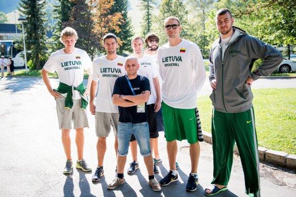 Lietuvos krepšinio rinktinė Bledo apylinkėse lankėsi 2013 metais