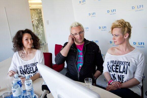 Karina Krysko - Skambinė, Egmontas Bžeskas ir Ingrida Martinkėnaitė