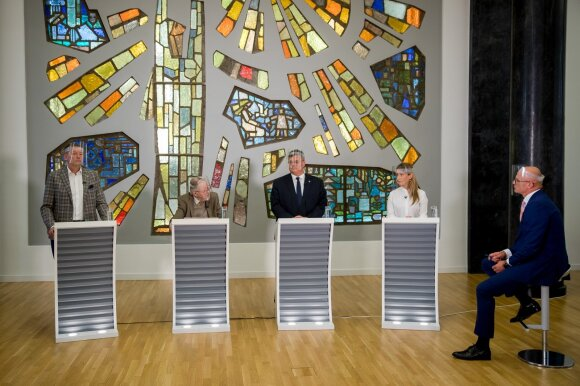 Vidmantas Janulevičius, Vytautas Landsbergis, Linas Linkevičius, Margarita Šešelgytė, Edmundas Jakilaitis