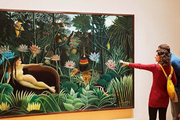 Modernaus meno muziejaus kolekcijoje yra apie 150 tūkstančių eksponatų