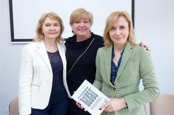 Dalia Antinienė, Edita Mildažytė, Rosita Lekavičienė