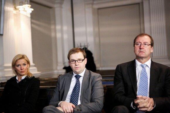 Vitalija Vonžutaitė, Vytautas Gapšys ir Viktoras Uspaskichas