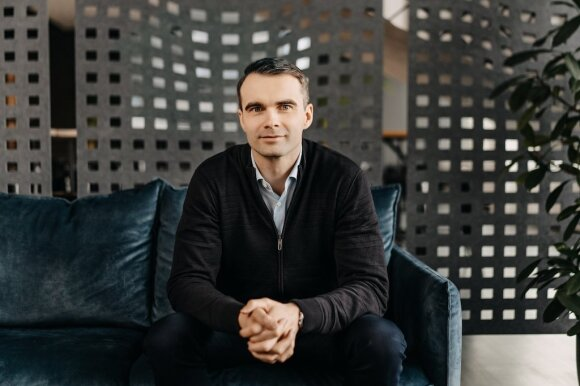 """JAV programavimo paslaugų įmonės """"Devbridge"""" viceprezidentas ir Lietuvos padalinio vadovas Viktoras Gurgždys"""