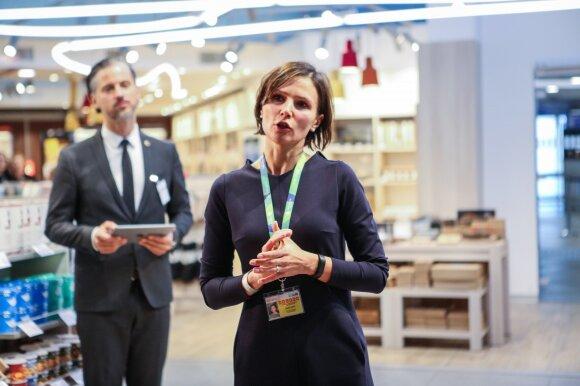 Lietuvos oro uostų vykdomoji direktorė Laura Joffė