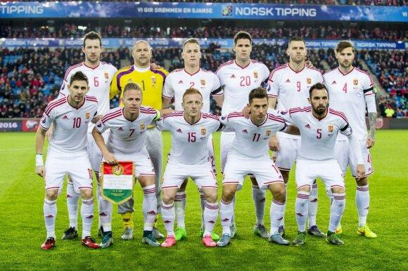 Vengrijos futbolo rinktinė