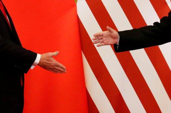 JAV ir Kinijos santykiai nusirito iki neregėtų žemumų