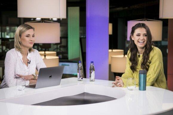 """Praėjusiais metais Lietuvai """"Eurovizijoje"""" atstovavusi Ieva Zasimauskaitė Jurijui Veklenko prognozuoja patekti į geriausiųjų penketuką: jis turi didelius šansus"""