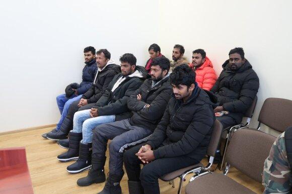Teisme – į Lietuvą bandę patekti šrilankiečiai