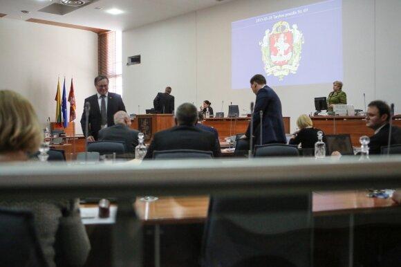 Vilniaus tarybos posėdis