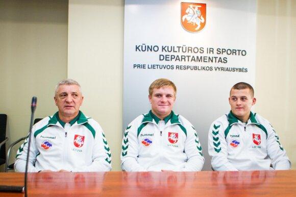 Vladimiras Bajevas, Evaldas Petrauskas, Eimantas Stanionis