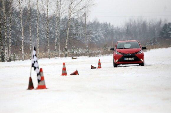 Žiemos vairavimo aikštelė