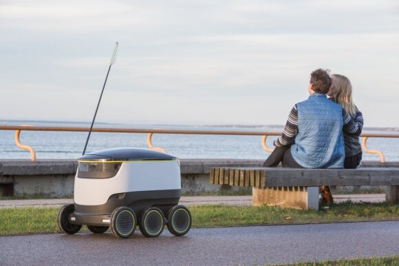 Starship Technologies robotai