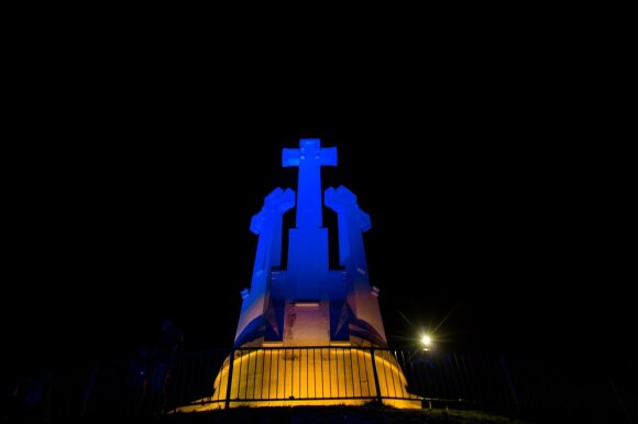 The Three Crosses on Ukraine's Independence Day