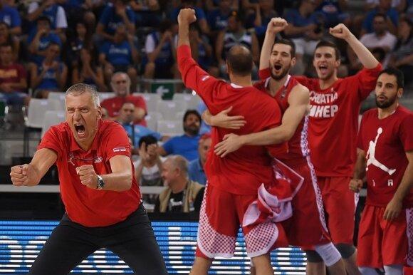 Graikijos rinktinė panaikino 24 taškų deficitą, bet liko be Rio, Latvija – irgi