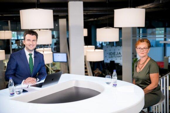 Arnas Mazėtis ir Nijolė Oželytė