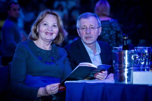 Gediminas Kirkilas su žmona