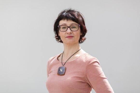 KnF Prof. Daiva Aliūkaitė (Remigijaus Ščerbausko nuotr.)