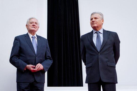 Valdas Adamkus ir Aleksanderas Kwasniewskis