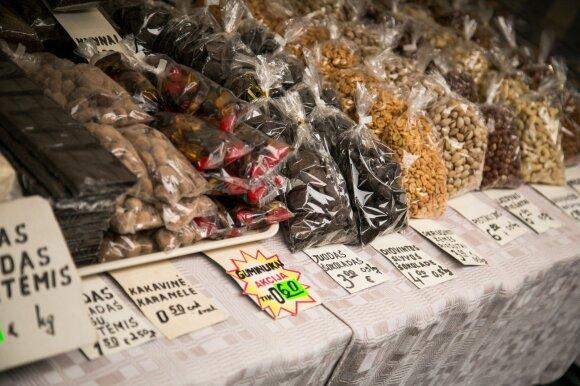 Kaziuko mugės prekybininkai: kainas keičiame ir kelis kartus per dieną