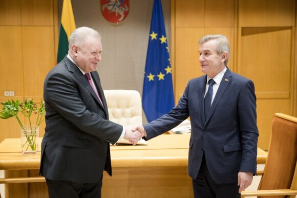 Aleksandras Udalcovas ir Viktoras Pranckietis