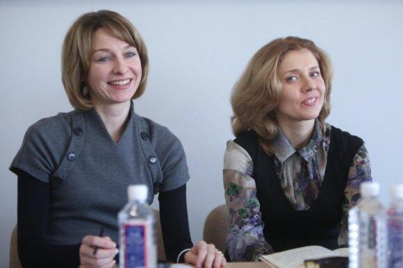 Eglė Krinickienė ir Inga Žalėnienė